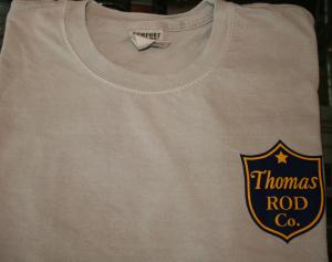 Thomas Rod Co T-Shirt Front